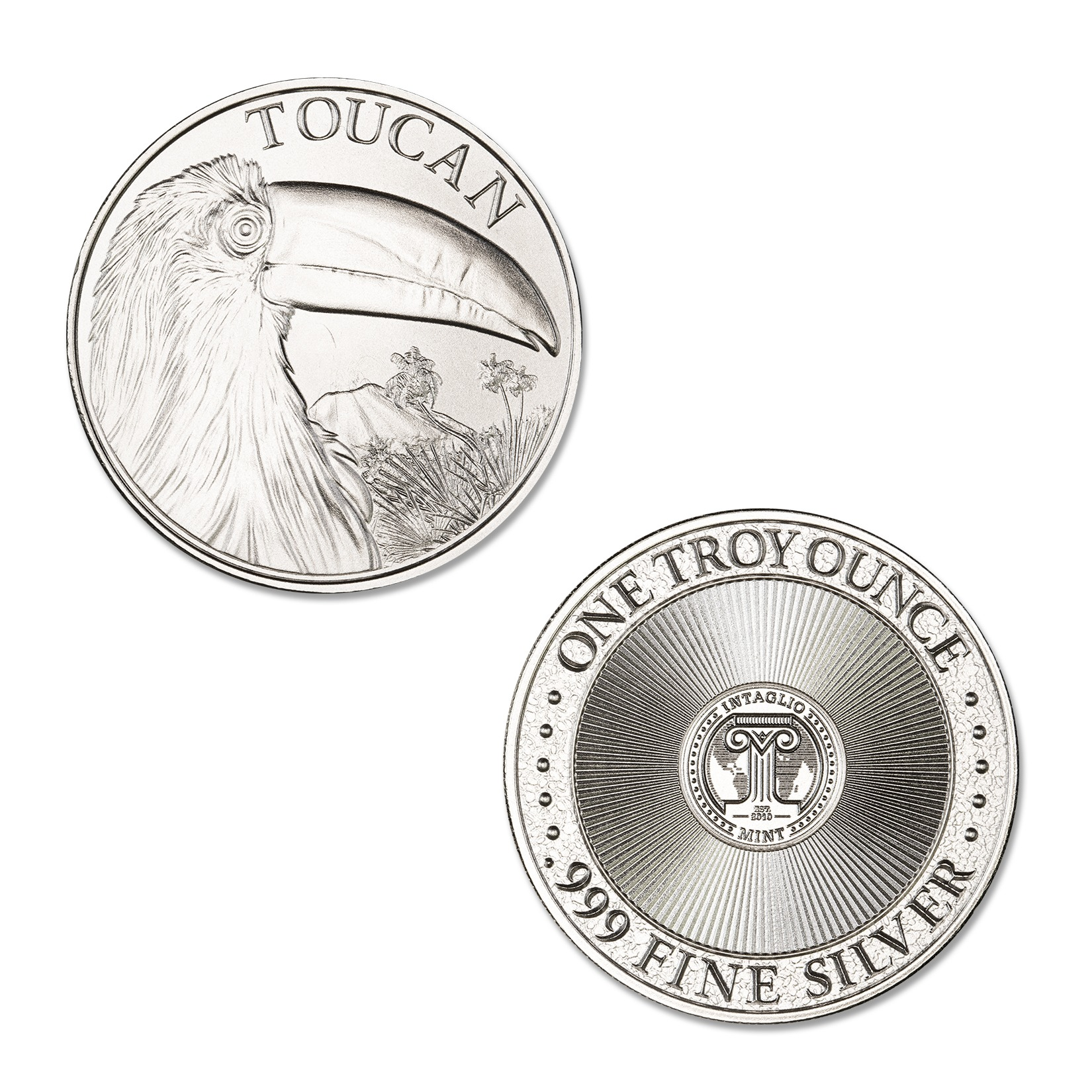 TOUCAN – 1 TROY OUNCE – 39MM