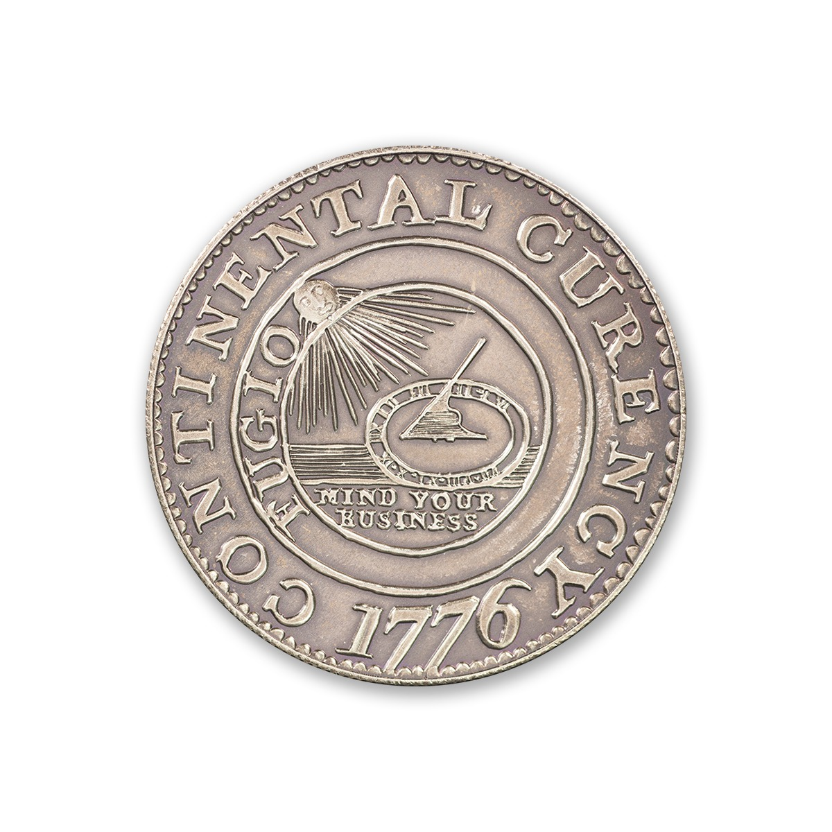 CONTINENTAL DOLLAR – 2 TROY OUNCE – 39MM (ANTIQUED)