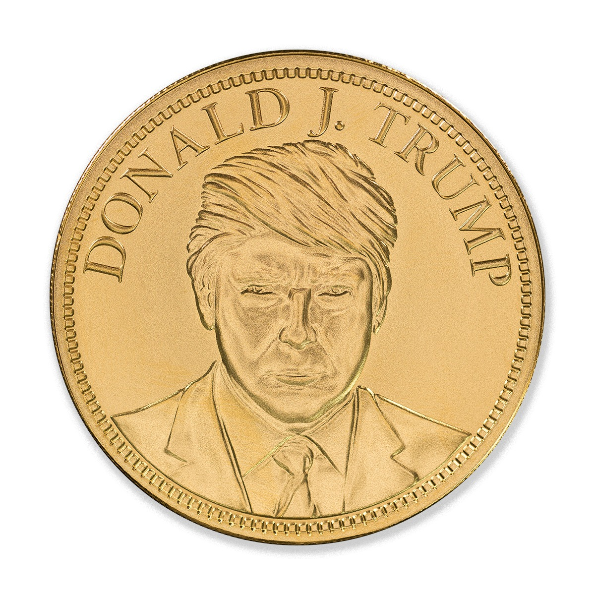 TRUMP INAUGURATION – 3 TROY OUNCE GOLD – 50MM – LIMITED MINTAGE: 45