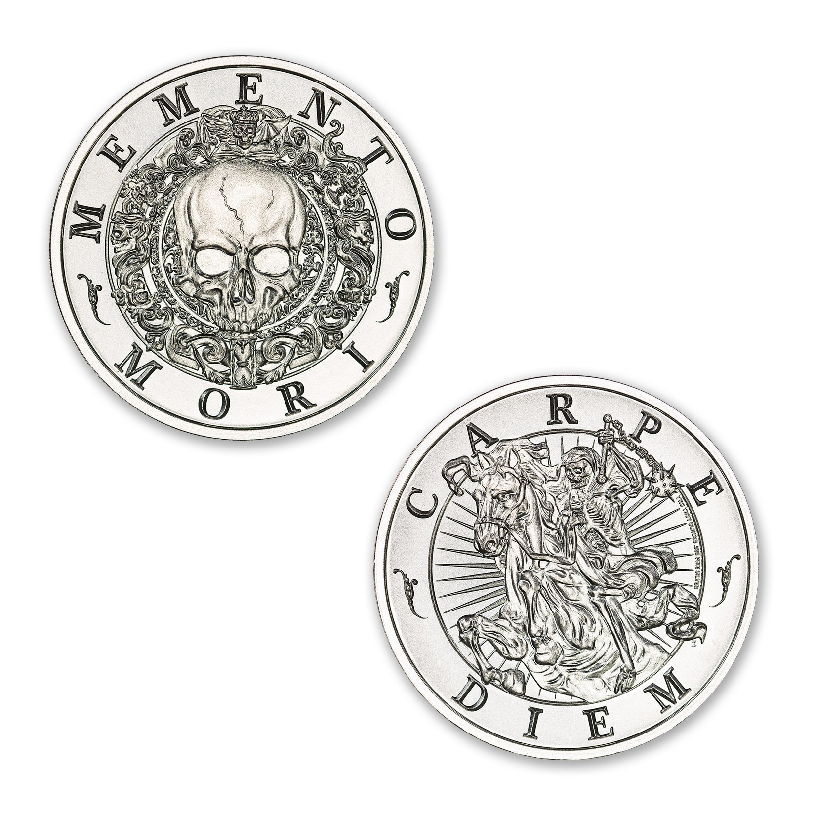 MEMENTO MORI – 2 TROY OUNCE – 39MM