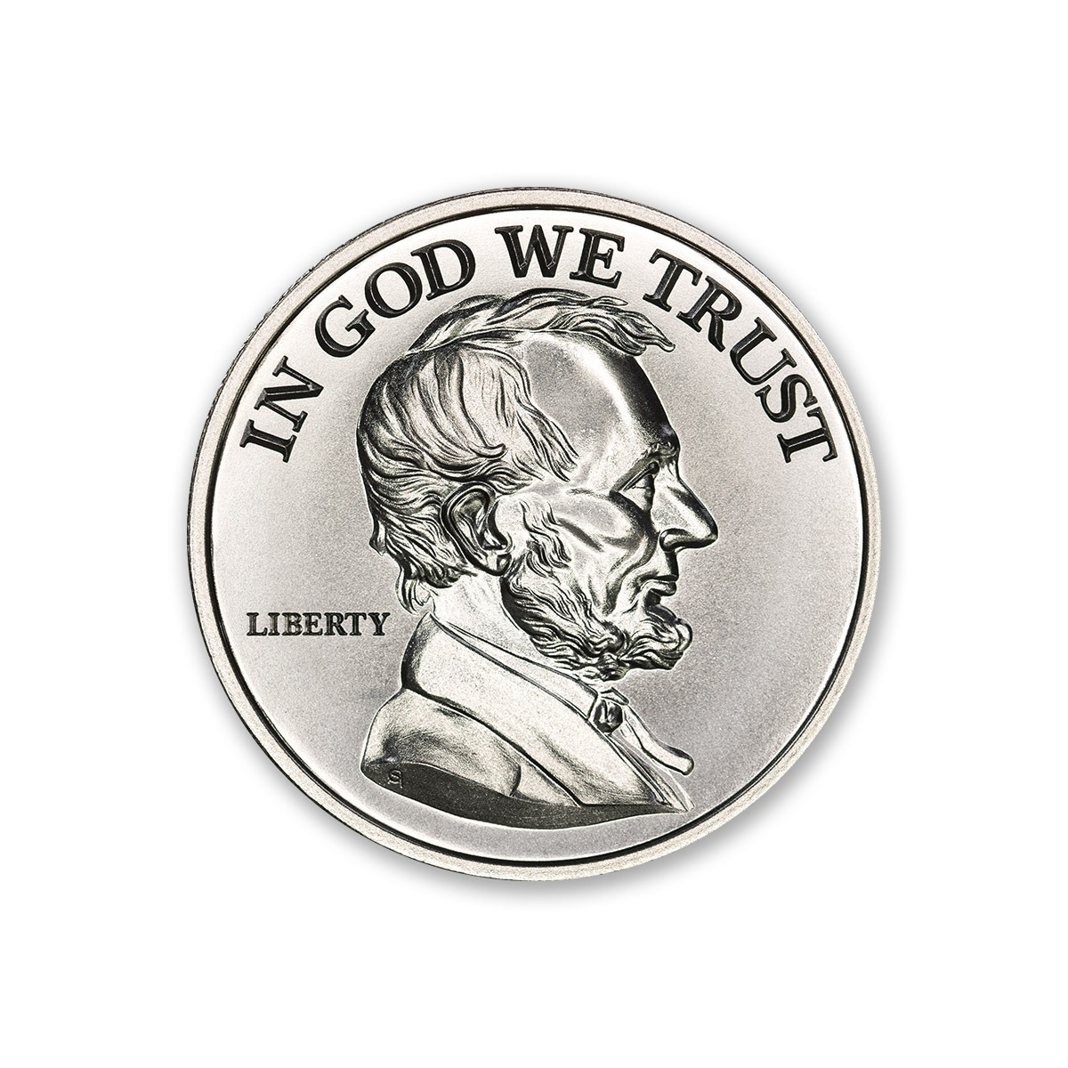 LINCOLN – 2 TROY OUNCE – 39MM