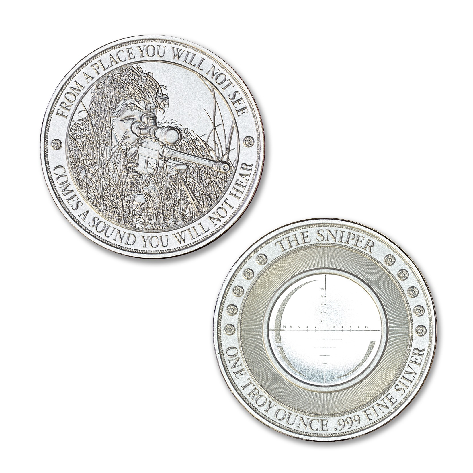 SNIPER – 1 TROY OUNCE – 39MM