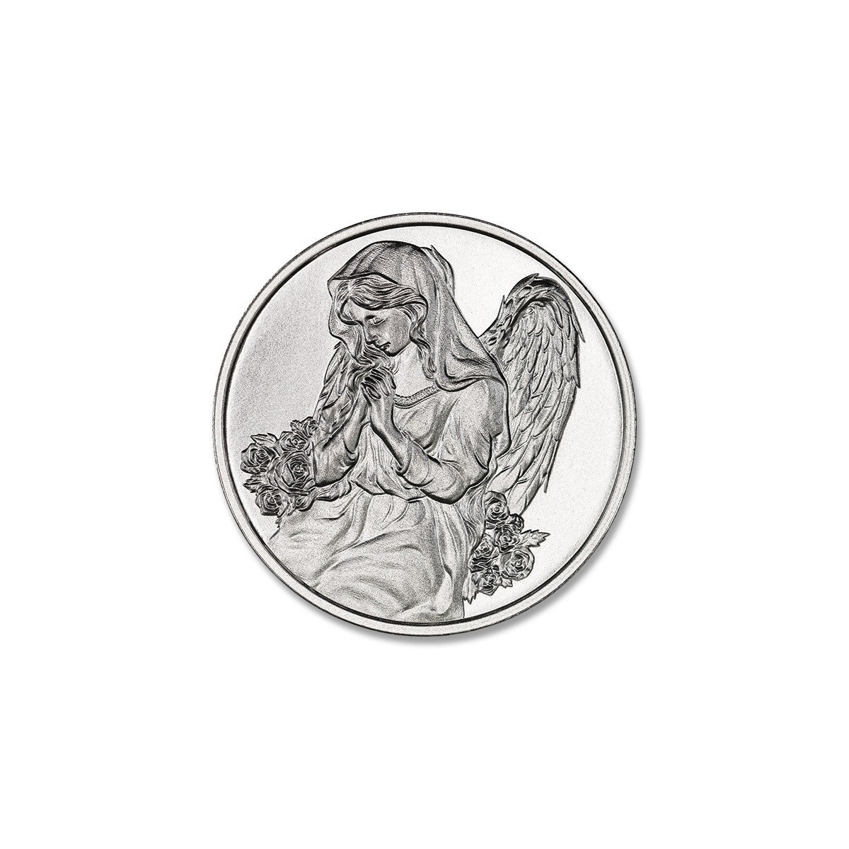 ANGEL IN YOUR POCKET – 1/2 TROY OUNCE – 30MM