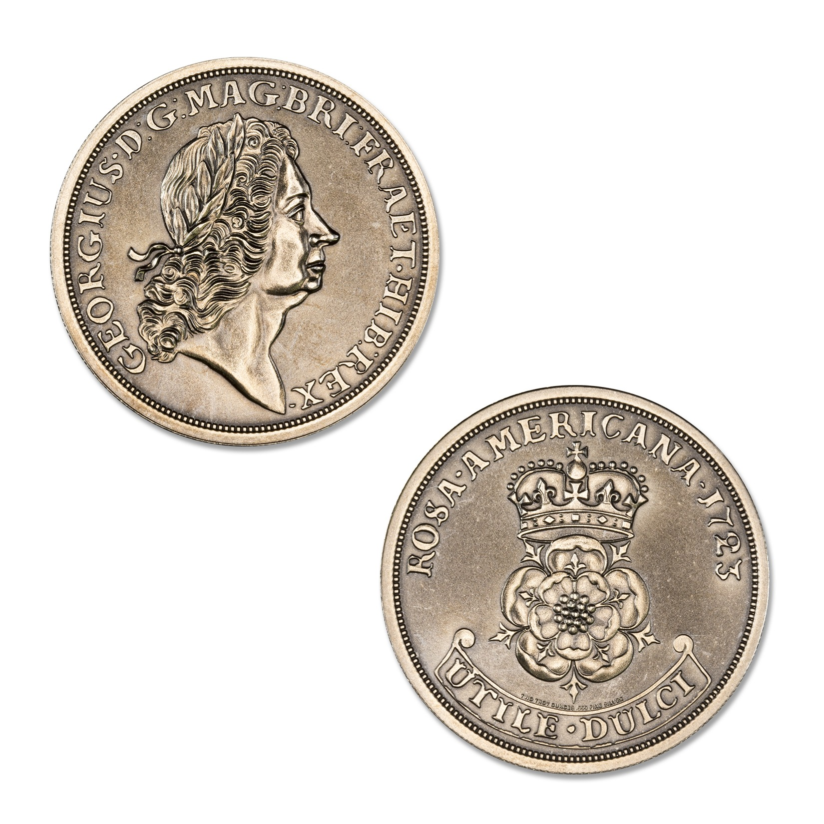 ROSA AMERICANA – 2 TROY OUNCE – 39MM (ANTIQUED)
