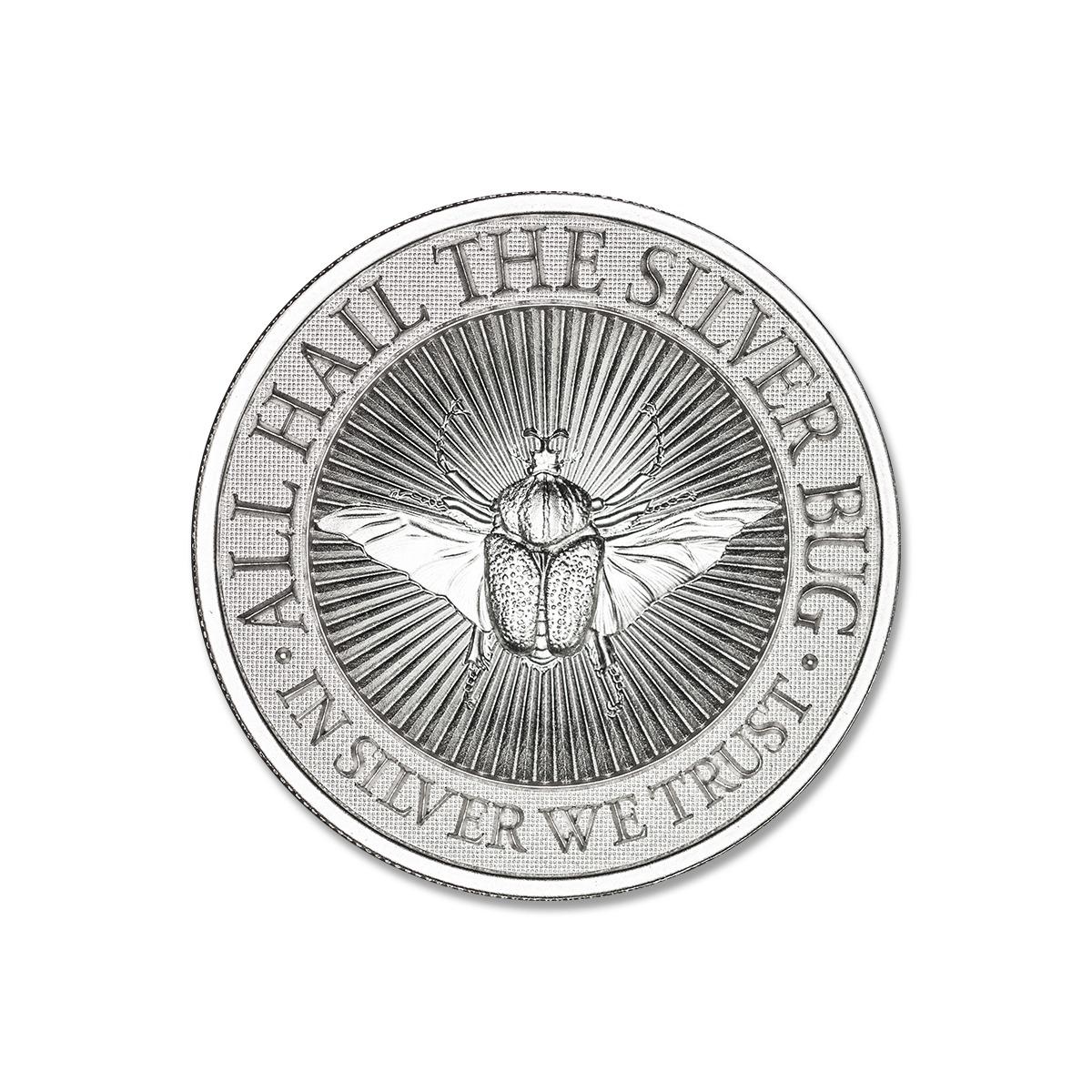 GOLIATHUS BEETLE – 2 TROY OUNCE – 39MM