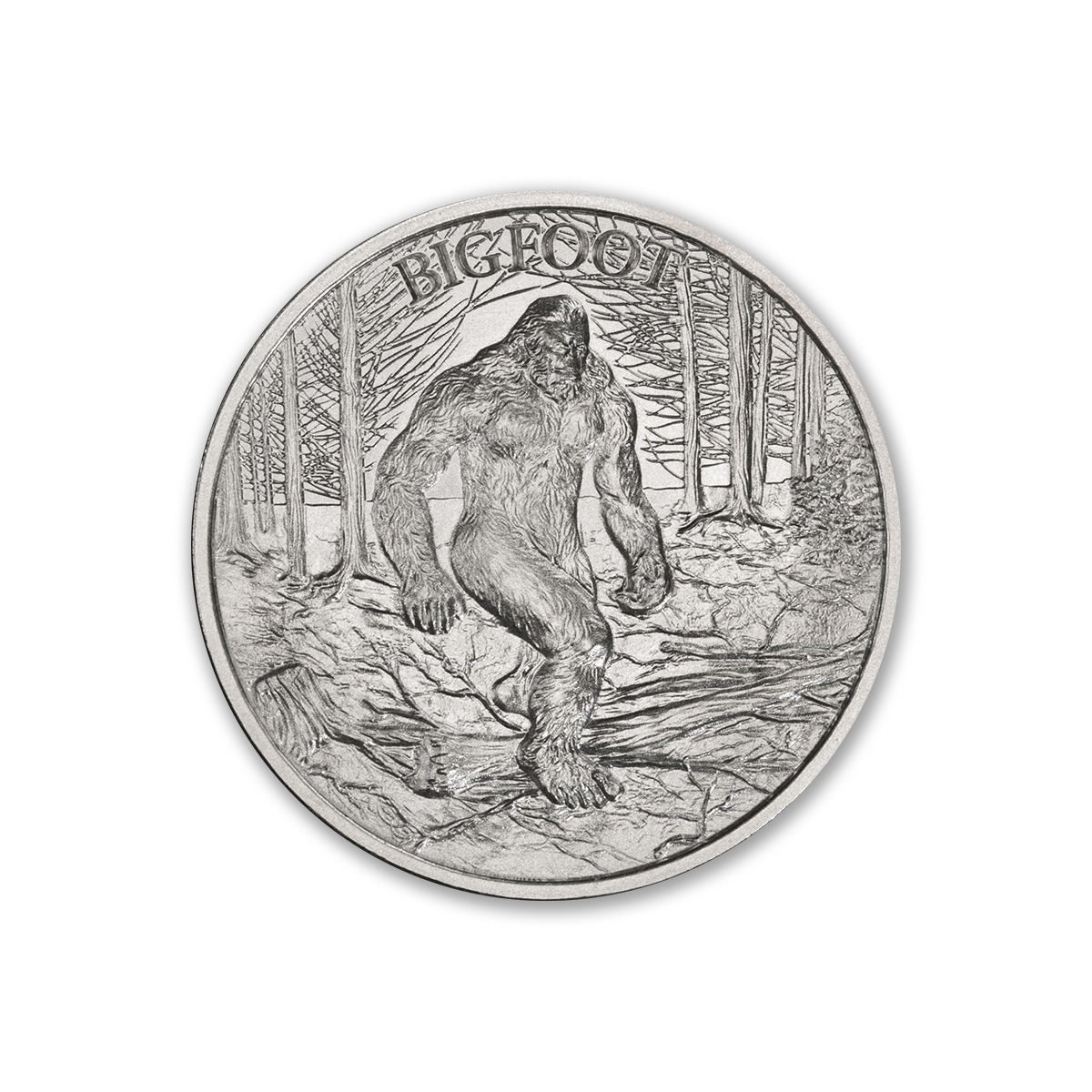 BIGFOOT – 1 TROY OUNCE – 39MM
