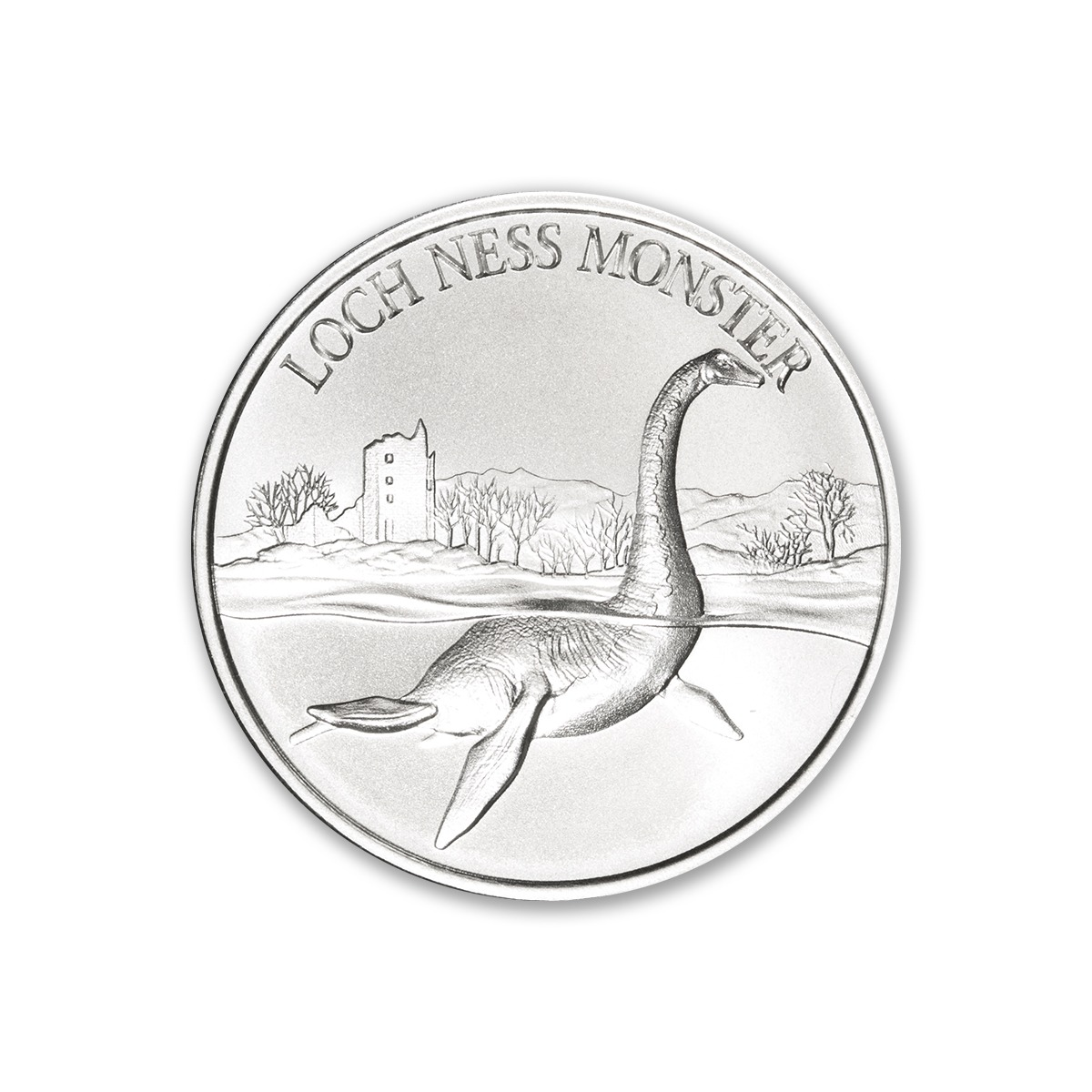 LOCH NESS MONSTER – 1 TROY OUNCE – 39MM