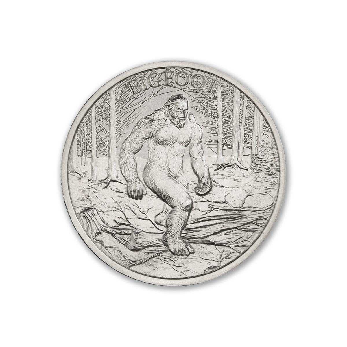 2021 – BIGFOOT – 1 TROY OUNCE – 39MM