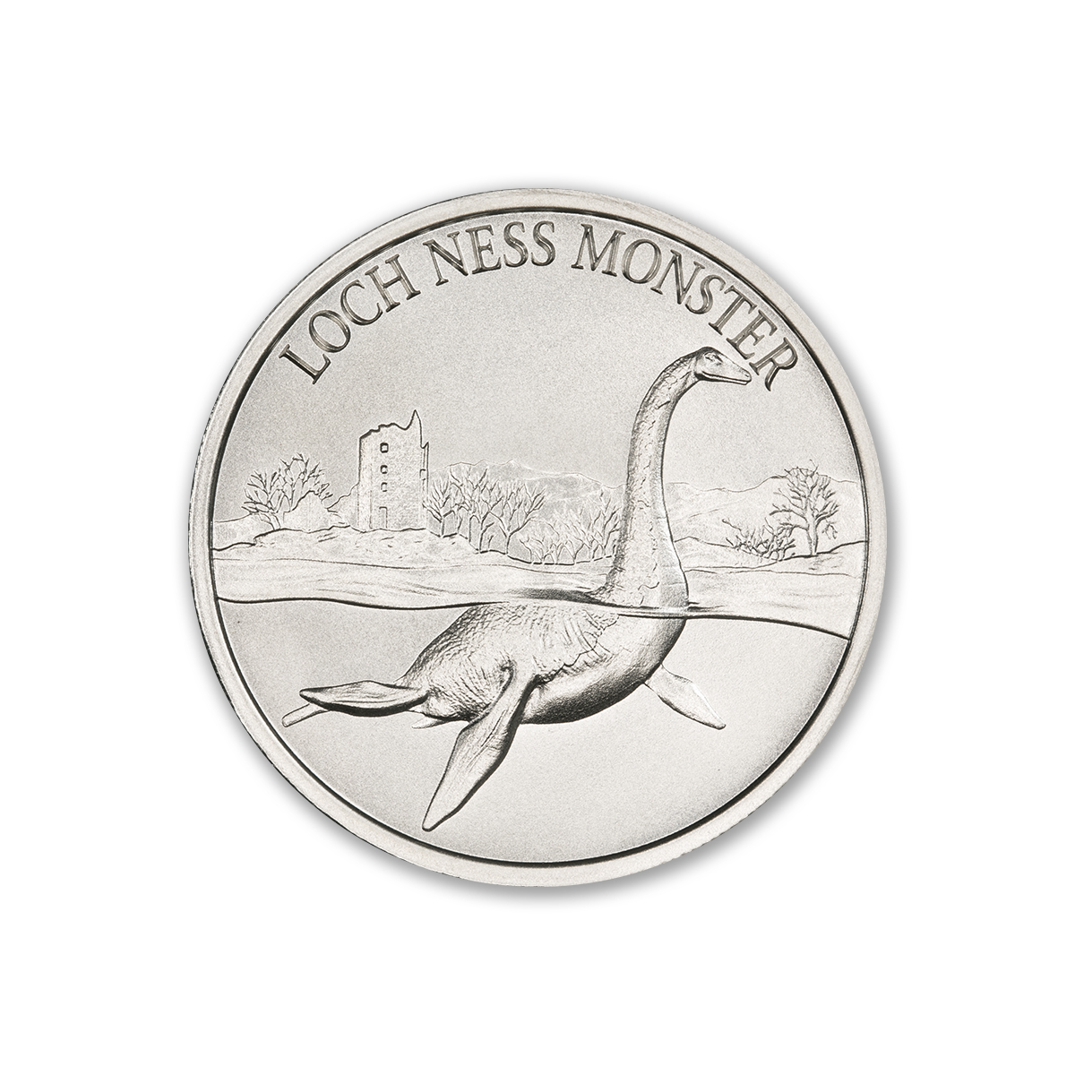 2020 – LOCH NESS MONSTER – 1 TROY OUNCE – 39MM