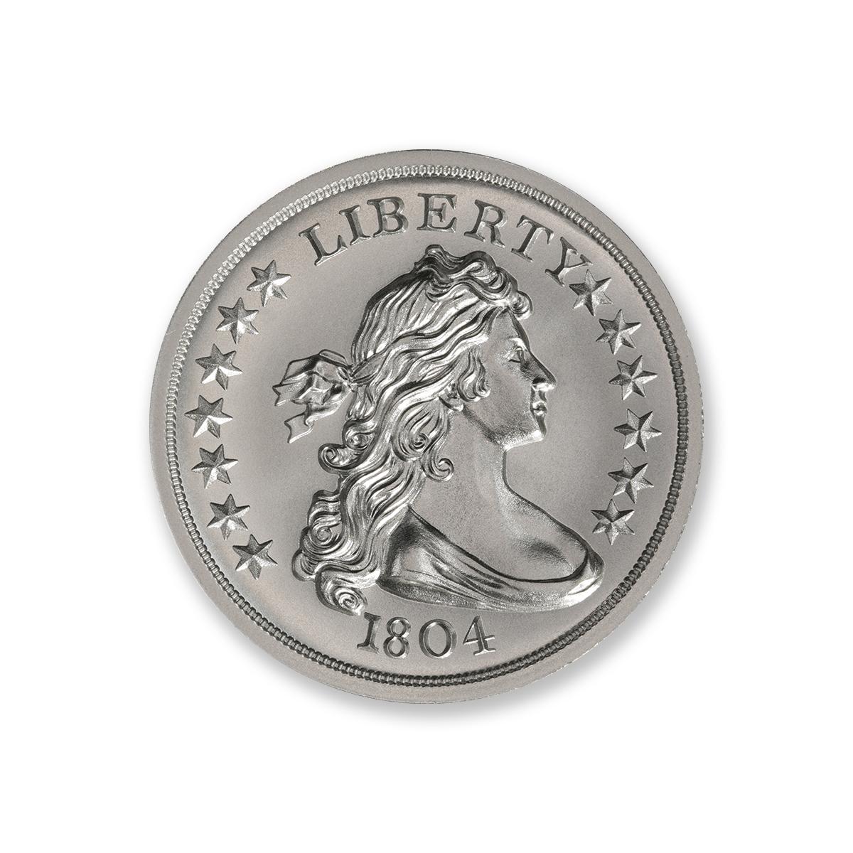 1804 DOLLAR TRIBUTE – 2 TROY OUNCE – 39MM
