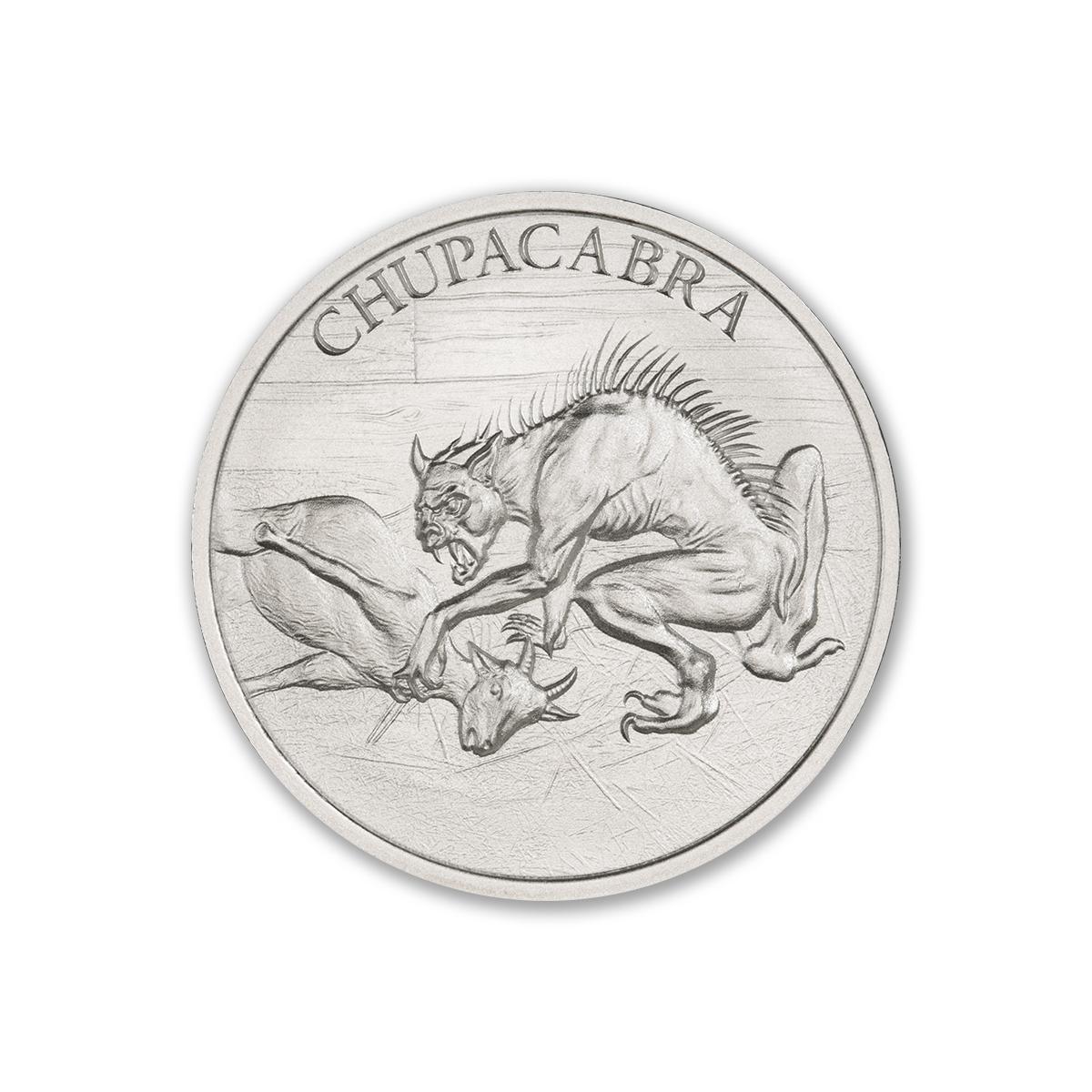 CHUPACABRA – 1 TROY OUNCE – 39MM