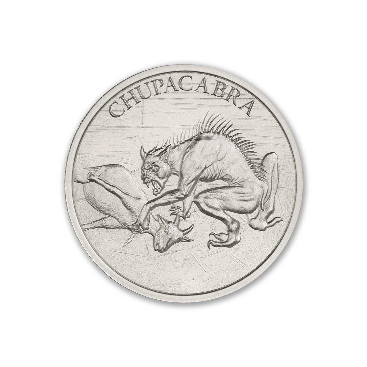 2021 – CHUPACABRA – 1 TROY OUNCE – 39MM