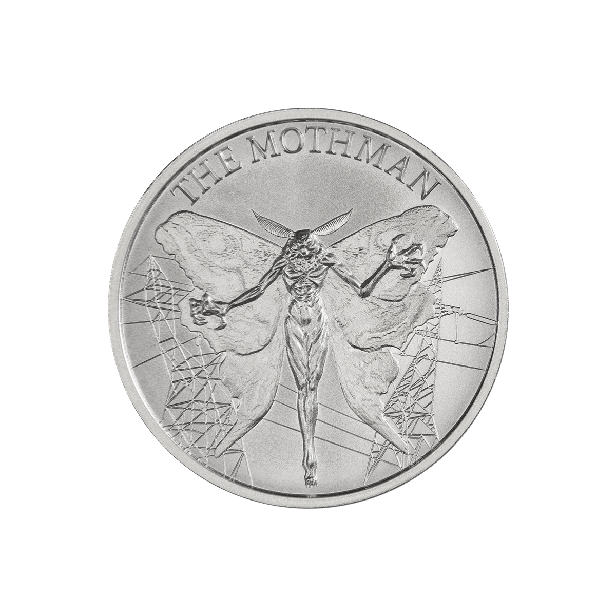 2021 – THE MOTHMAN – 1 TROY OUNCE – 39MM