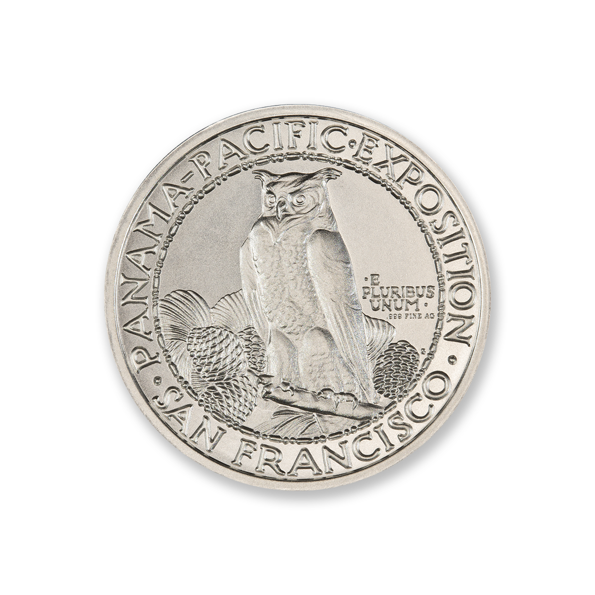 PAN-PAC ROUND TRIBUTE – 2 TROY OUNCE – 39MM