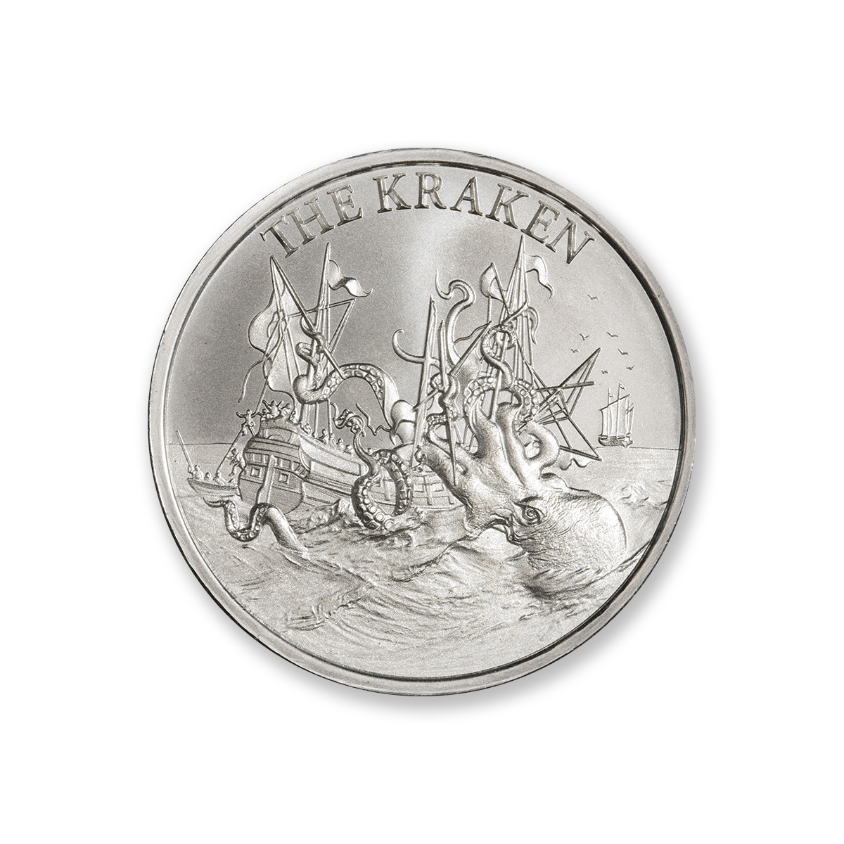 2020 – THE KRAKEN – 2 TROY OUNCE – 39MM