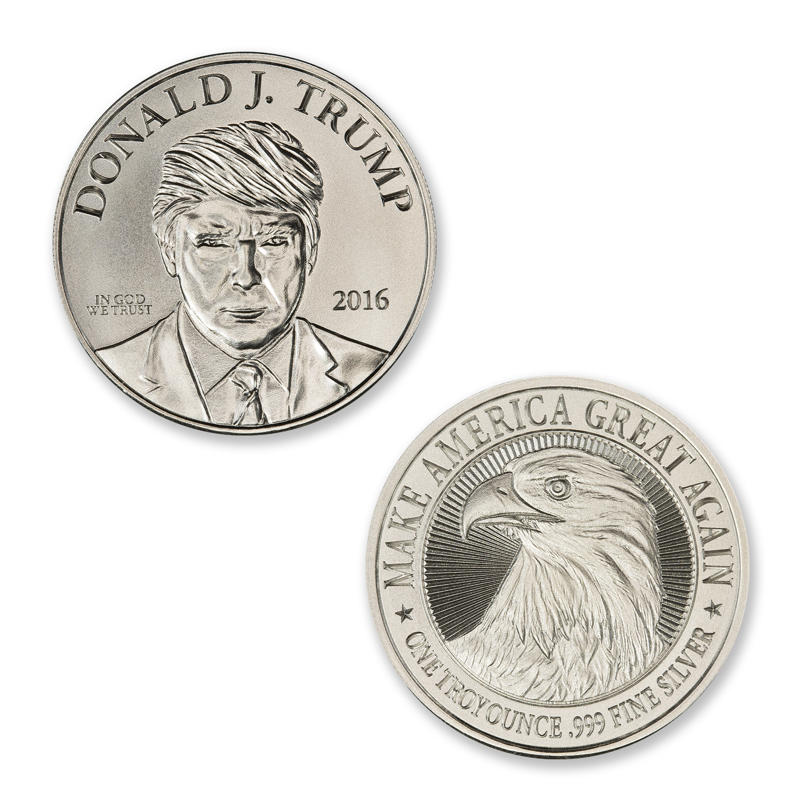 TRUMP CAMPAIGN – 1 TROY OUNCE – 39MM
