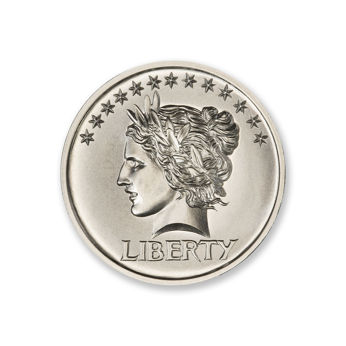 SAINT-GAUDENS ONE CENT COIN TRIBUTE – 2 TROY OUNCE – 39MM