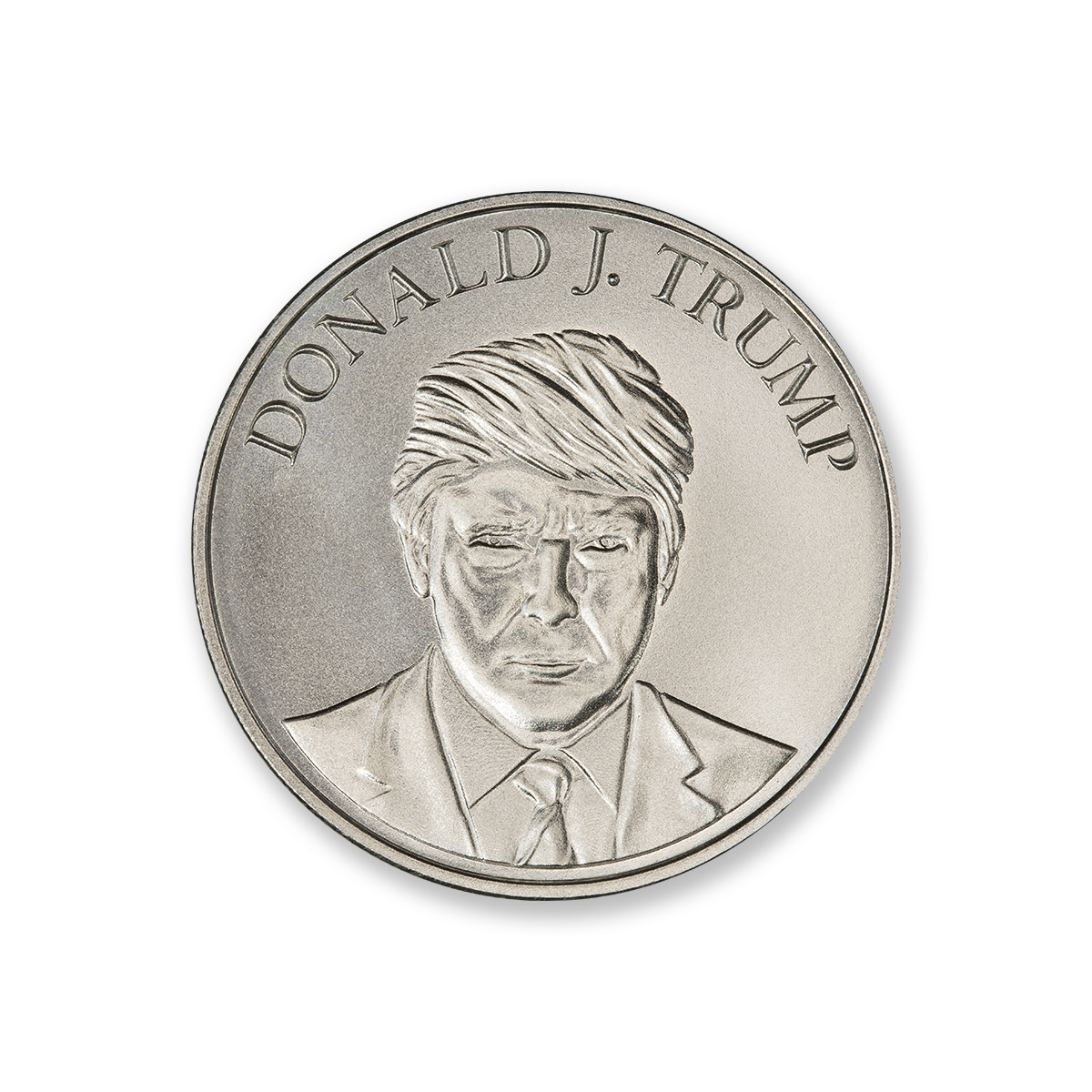 TRUMP PRESIDENTIAL – 1 TROY OUNCE – 39MM
