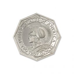 PAN-PAC OCTAGONAL TRIBUTE – 2 TROY OUNCE – 39MM
