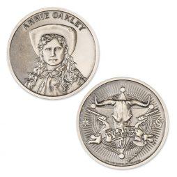 NEW Intaglio Mint Wild West Legends Buffalo Bill 1 oz .999 Silver Round