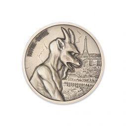 GARGOYLE – TYPE I – 2 TROY OUNCE – UHR – 39MM (ANTIQUED)