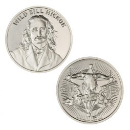WILD BILL HICKOK – 2 TROY OUNCE – 39MM