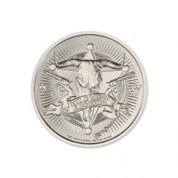DOC HOLLIDAY – 2 TROY OUNCE – 39MM