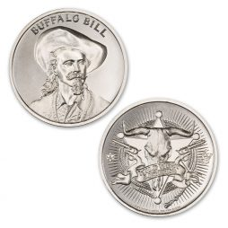 BUFFALO BILL – 1 TROY OUNCE – 39MM