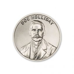 DOC HOLLIDAY – 1 TROY OUNCE – 39MM