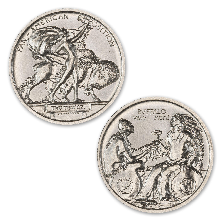 Pan American Expo Medal Buffalo 2