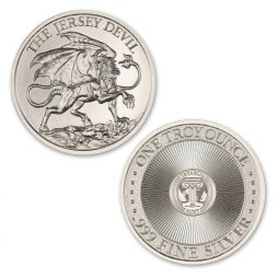 THE JERSEY DEVIL – 1 TROY OUNCE – 39MM