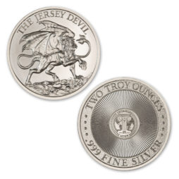 THE JERSEY DEVIL – 2 TROY OUNCE – 39MM