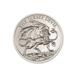 2020 – THE JERSEY DEVIL – 2 TROY OUNCE – 39MM