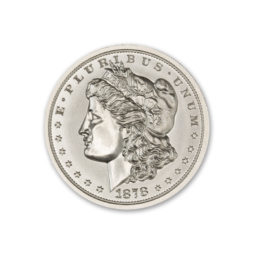 1878 MORGAN OBVERSE WITH 1804 DOLLAR REVERSE – 2 TROY OUNCE – 39MM *MULE* – LIMITED MINTAGE OF 15