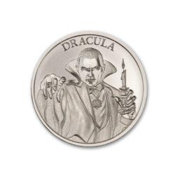 2021 DRACULA – VINTAGE HORROR SERIES – 1 TROY OUNCE – 39MM