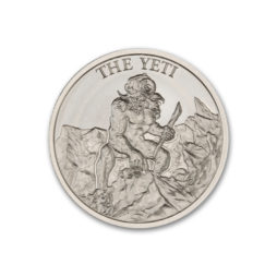 2021 – THE YETI – 1 TROY OUNCE – 39MM