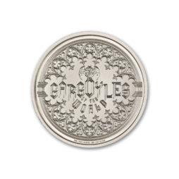 GARGOYLE – TYPE V – MAGDALEN COLLEGE – 2 TROY OUNCE – UHR – 39MM
