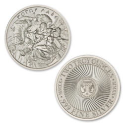 2020 – MOLON LABE – TYPE VII – 2 TROY OUNCE – 39MM