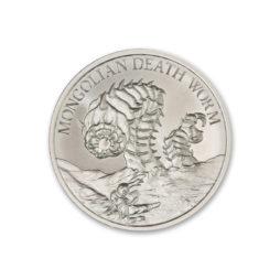 2021 – MONGOLIAN DEATH WORM – 1 TROY OUNCE – 39MM