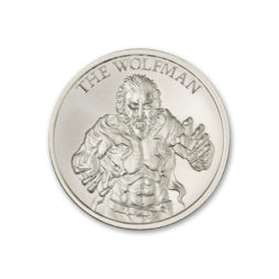 2021 THE WOLFMAN – VINTAGE HORROR SERIES – 1 TROY OUNCE – 39MM