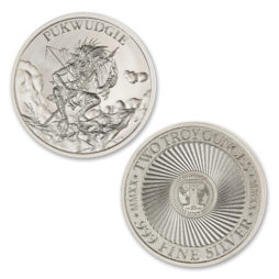 2020 – PUKWUDGIE- 2 TROY OUNCE – 39MM