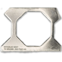 OCTAGONAL WEBBING – 72 GRAMS – .999 FINE SILVER
