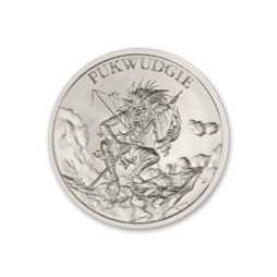 2020 – PUKWUDGIE- 1 TROY OUNCE – 39MM