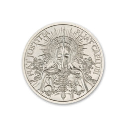 FIAT JUSTITIA RUAT CAELUM – 1 TROY OUNCE – 39MM