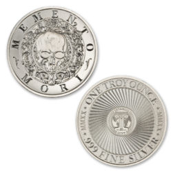MEMENTO MORI – 1 TROY OUNCE – 39MM