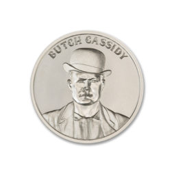 BUTCH CASSIDY – 1 TROY OUNCE – 39MM