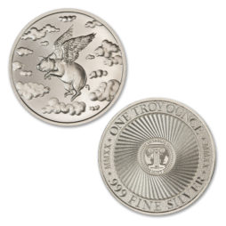 2020 – WHEN PIGS FLY – 1 TROY OUNCE – 39MM