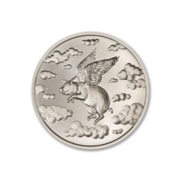 2021 – WHEN PIGS FLY –  2 TROY OUNCE – 39MM
