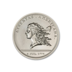 LIBERTAS AMERICANA MEDAL TRIBUTE – 2 TROY OUNCE – 39MM
