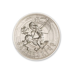 ZOMBIE ZODIACS – SAGITTARIUS – 1 TROY OUNCE – 39MM